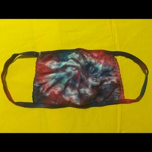 Hand Tie Dyed Reusable Cotton Face Mask  #4